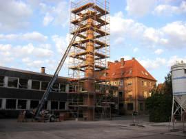 Hamm in Westfalen: Schornstein-Kunstwerk