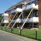 Estebrügge : Unterfangung der Balkone